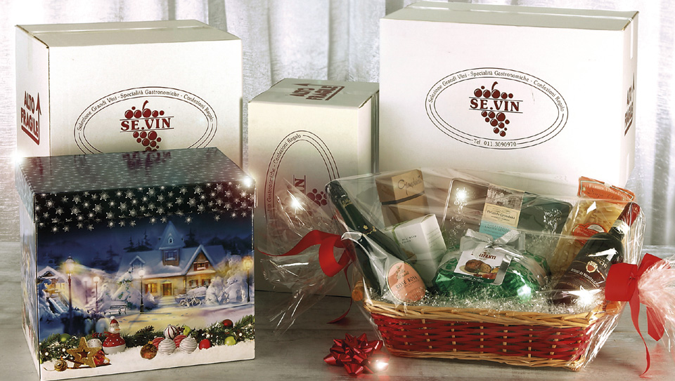 Se.vin, Packaging Confezioni Regalo